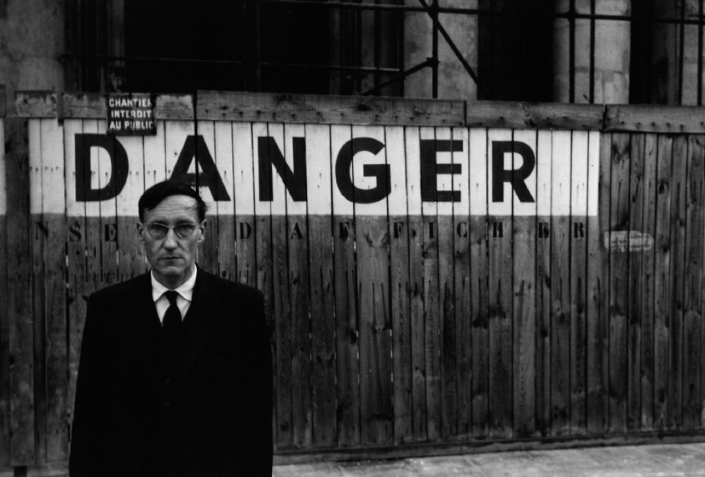 « Danger » – Portrait de William S. Burrough