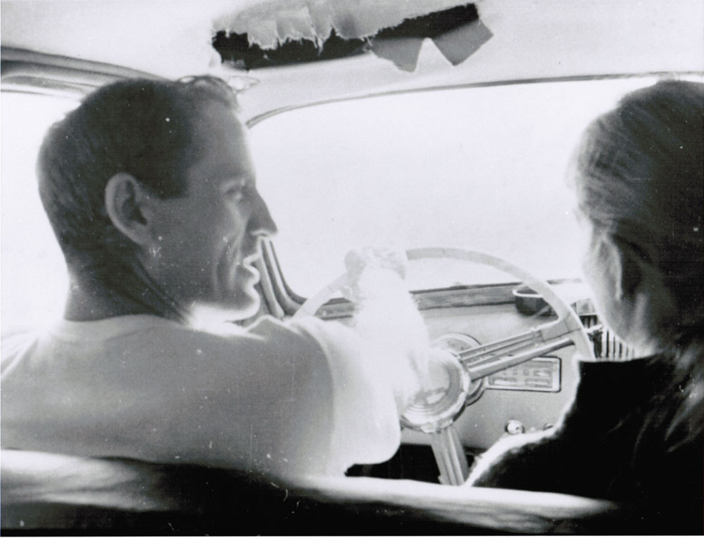 Neal Cassady and his then girlfriend Anne Murphy, circa 1963