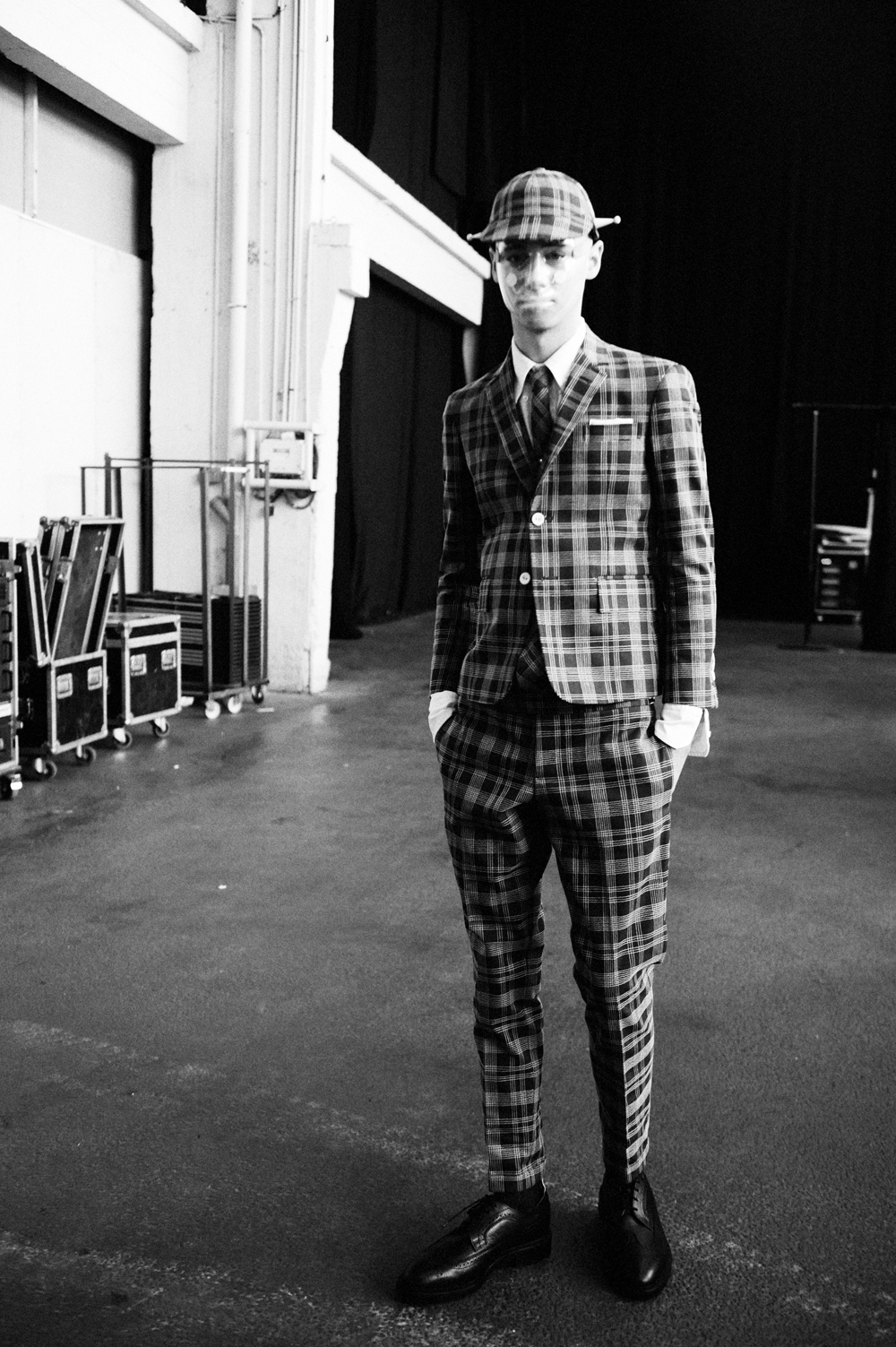 Thom Browne Menswear S S 2015 Paris Crash Magazine