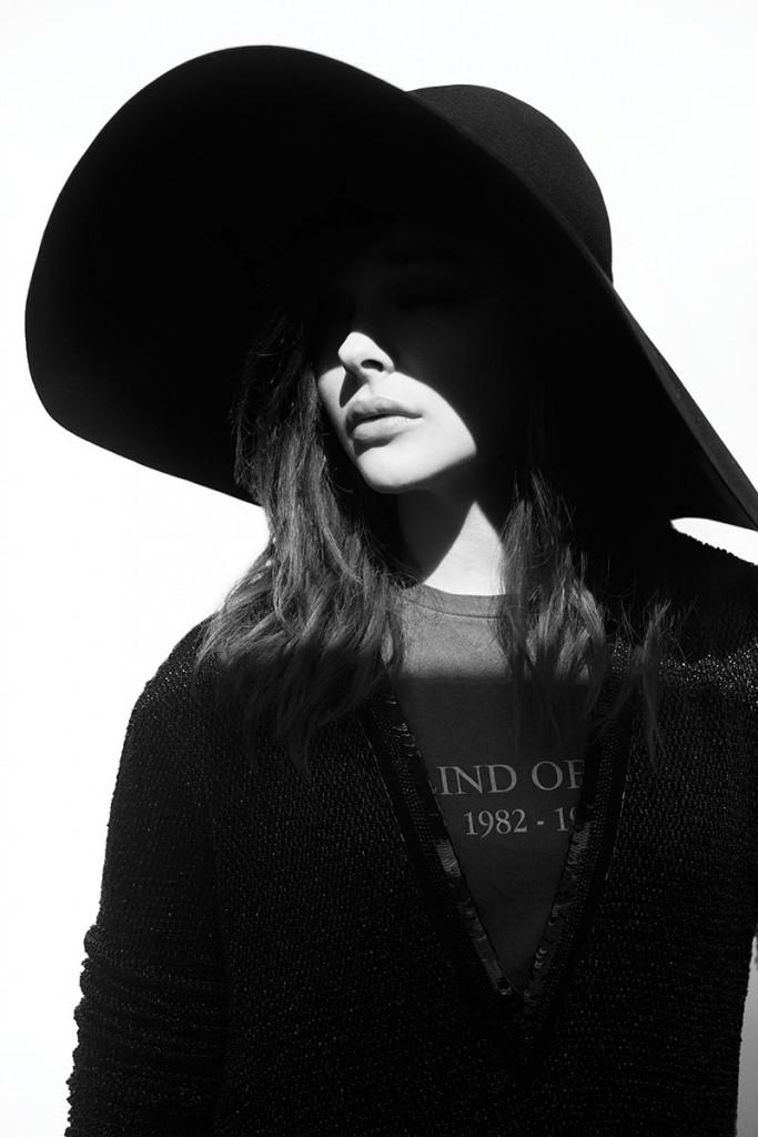 Chloë Moretz on balance - Crash magazine