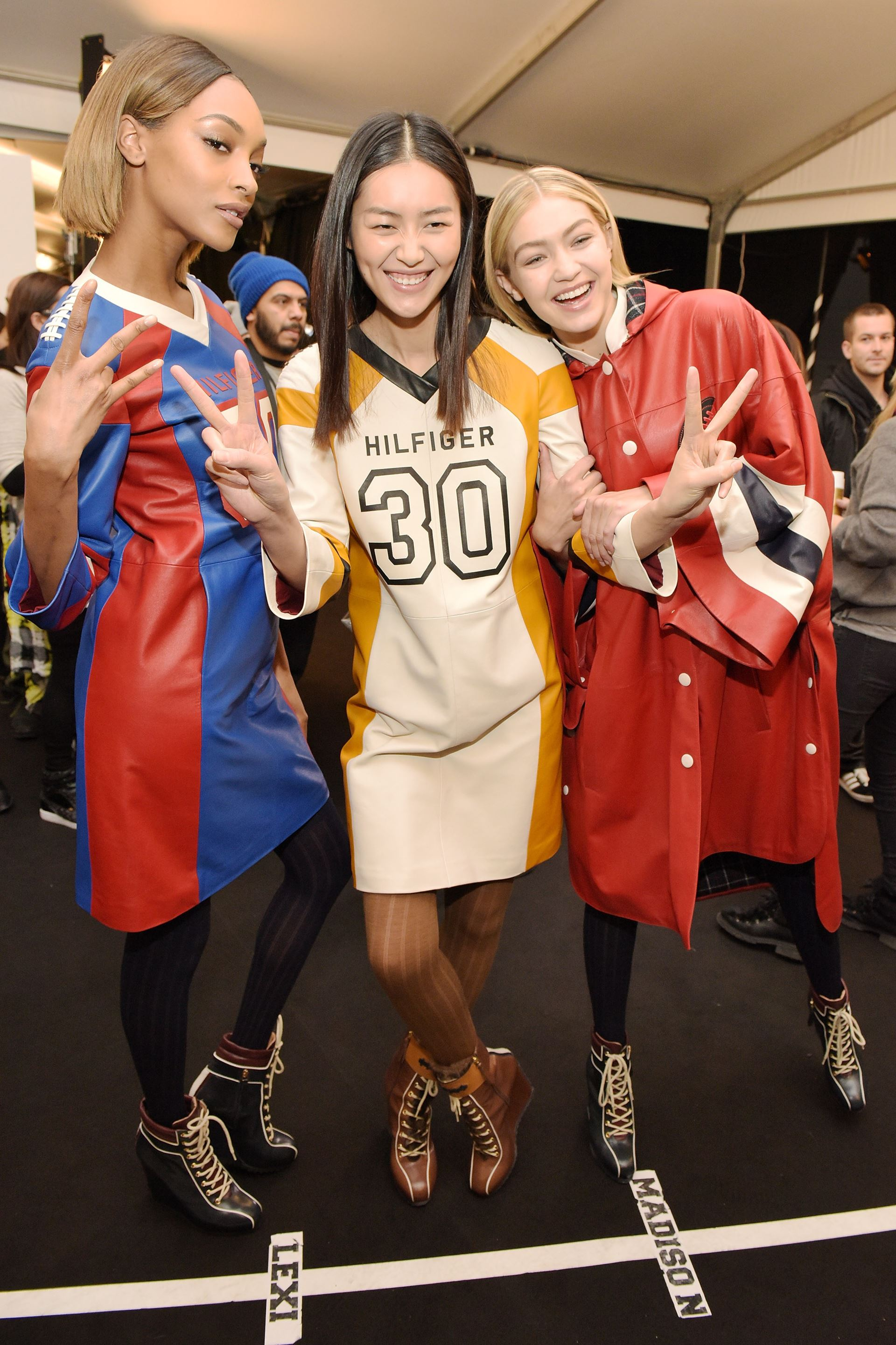 Backstage At Tommy Hilfiger Fall Winter 2015 New York