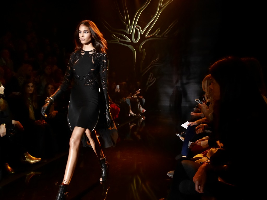 ELIE SAAB FALL-WINTER 2015 PARIS FASHION WEEK EXCLUSIVE RUNWAY COVERAGE FRANK PERRIN CINDY BRUNA