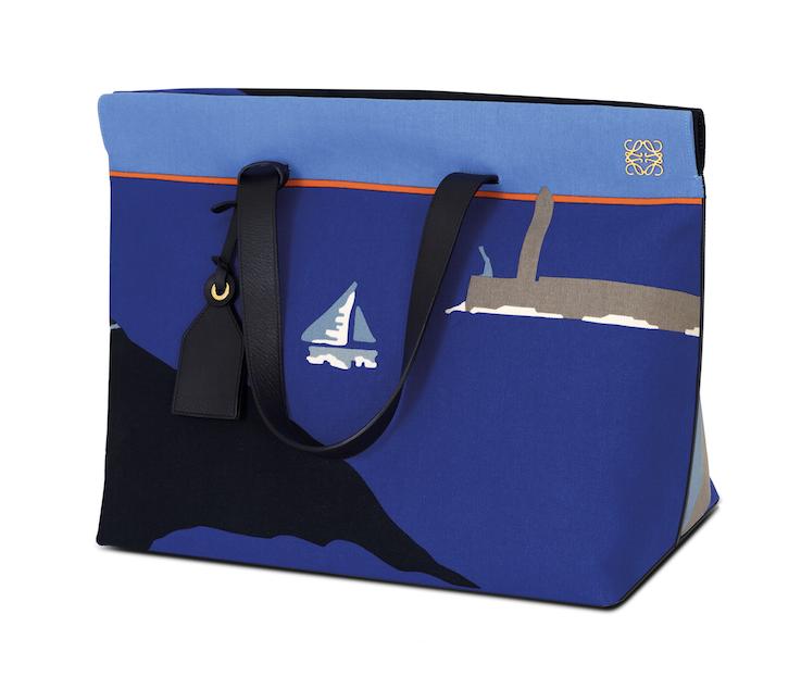 Tote Bag inspired by John Allen Cornish Harbour - Loewe