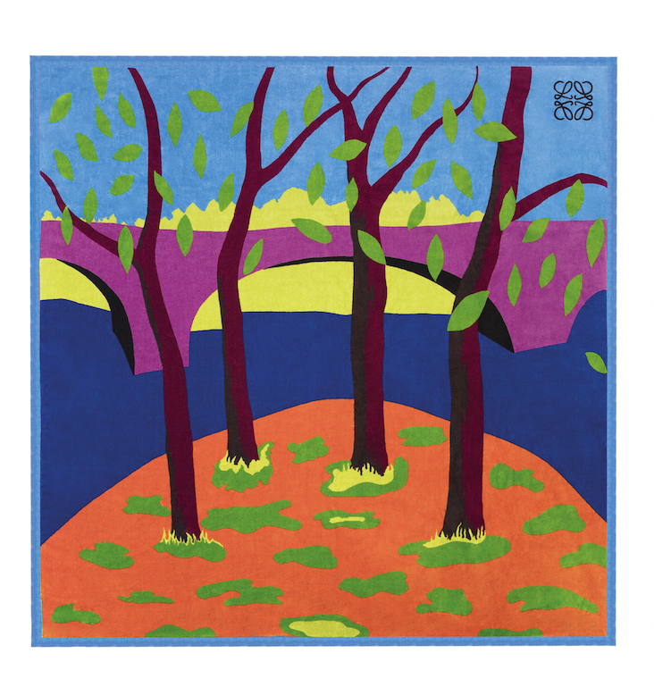 John Allen Falling Leaves - Loewe