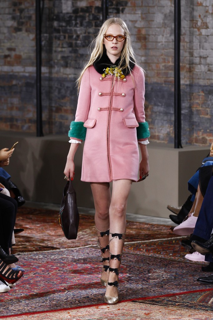 GUCCI RESORT 2016 ALESSANDRO MICHELE NEW YORK