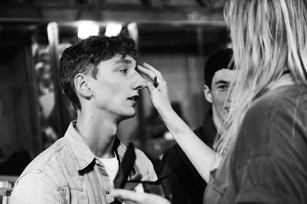 3.1Phillip Lim Men Spring-Summer 2016 backstage by Elise Toïdé Paris Fashion Week / Crash Magazine
