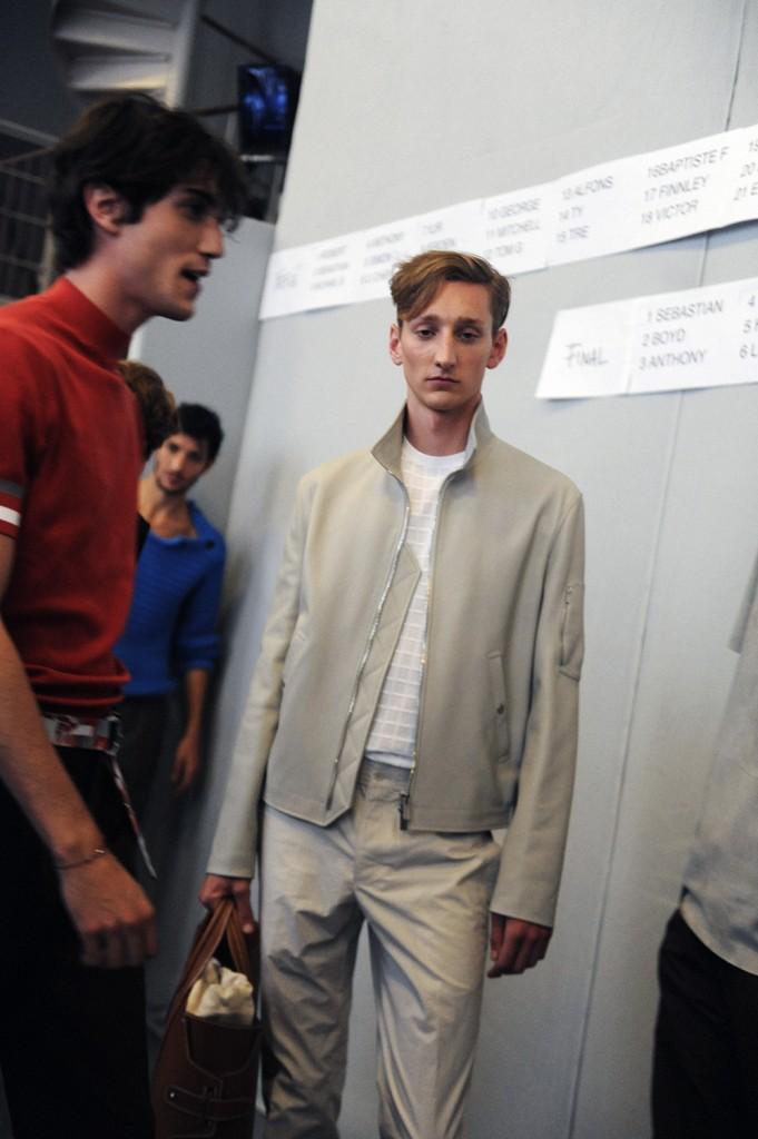 HermèsSS16 Men backstage by Elise Toïdé / Crash Magazine