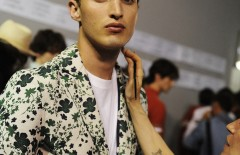 Hermès SS16 Men backstage by Elise Toïdé / Crash Magazine