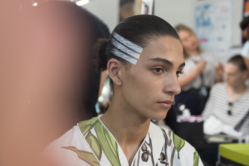 Y-3 SS16 Backstage_Crash Magazine