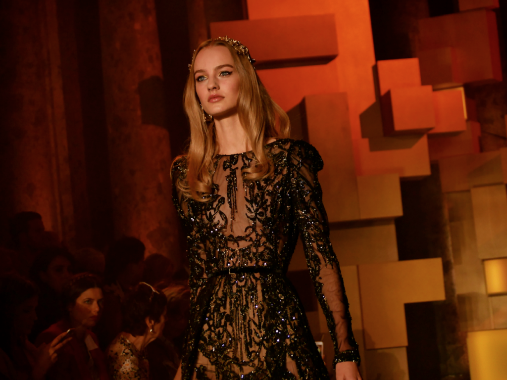 ElieSaab Haute Couture Fall-Winter 2015-2016 in Paris