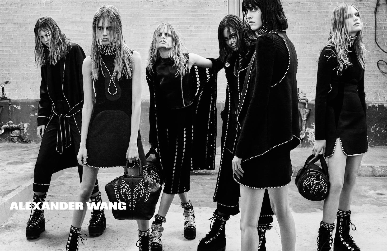 Alexander Wang Fashion Show  Looks