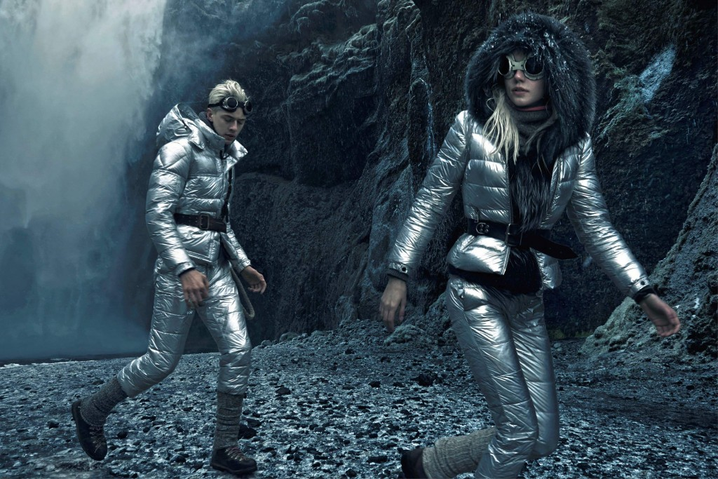 Moncler FW15Campaign by Annie Leibovitz_Crash Magazine_Lucky Blue Smith and Pyper Smith