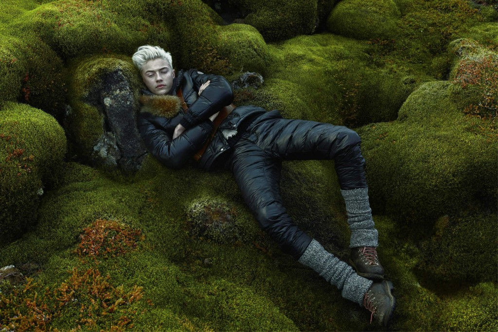 Moncler FW15 Campaign by Annie Leibovitz_Crash Magazine_Lucky Blue Smith