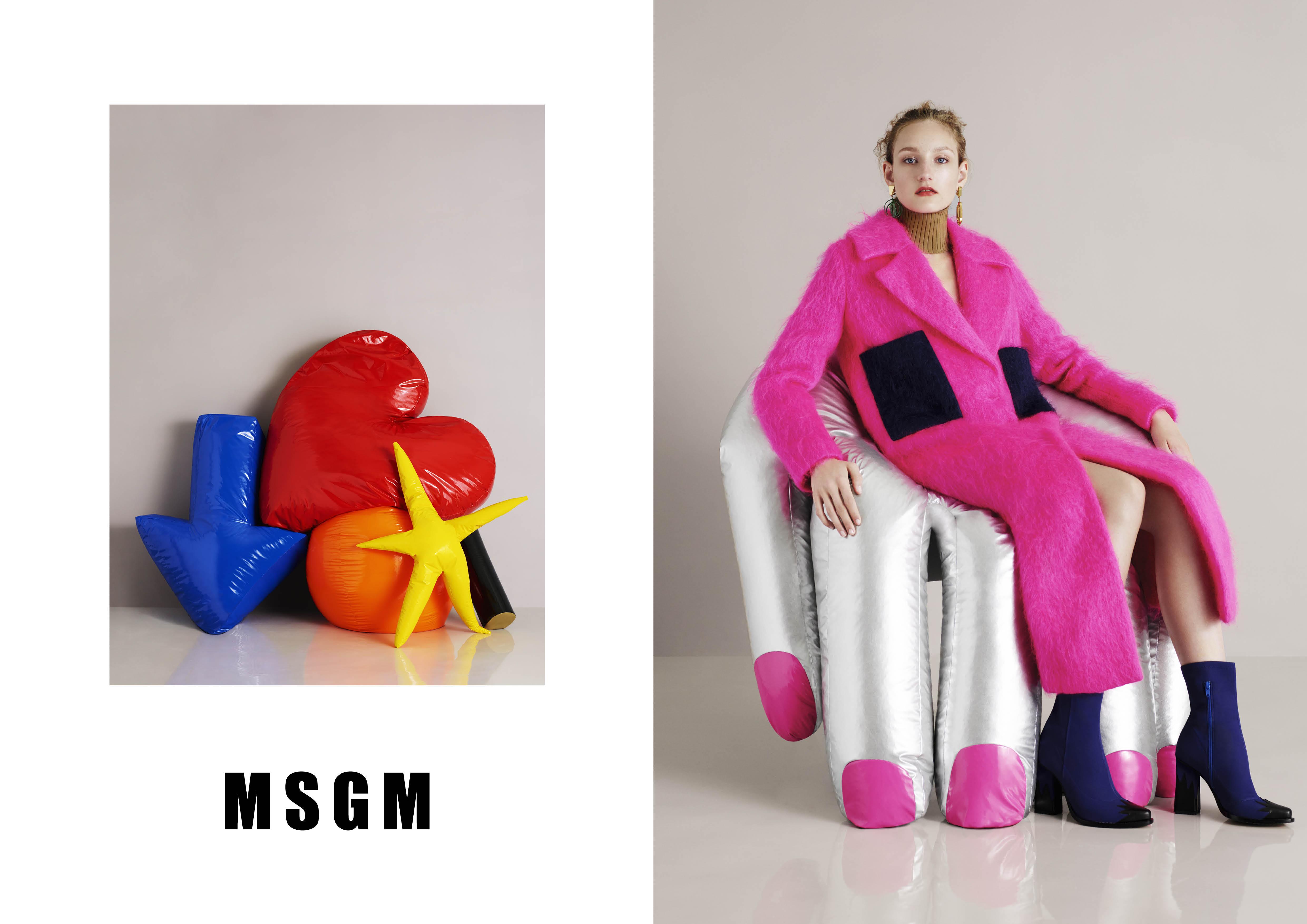 MSGM FW15 CAMPAIGN