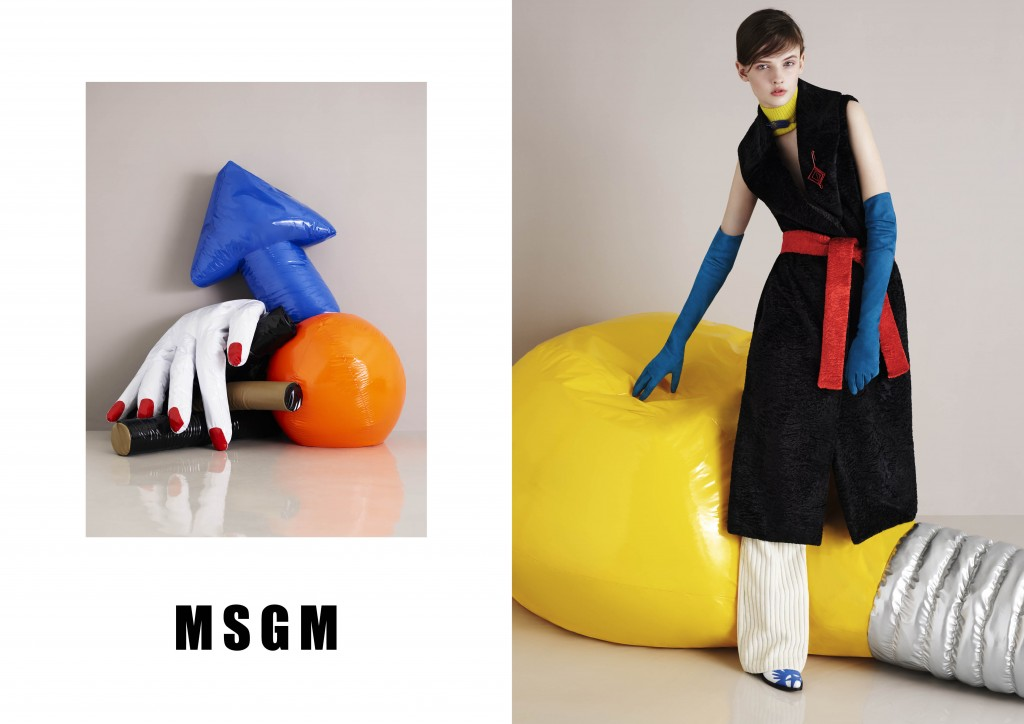 MSGM FW15CAMPAIGN Crash Magazine