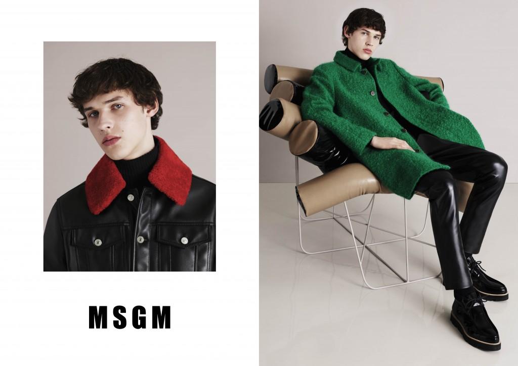 MSGM FW15 CAMPAIGN Crash Magazine