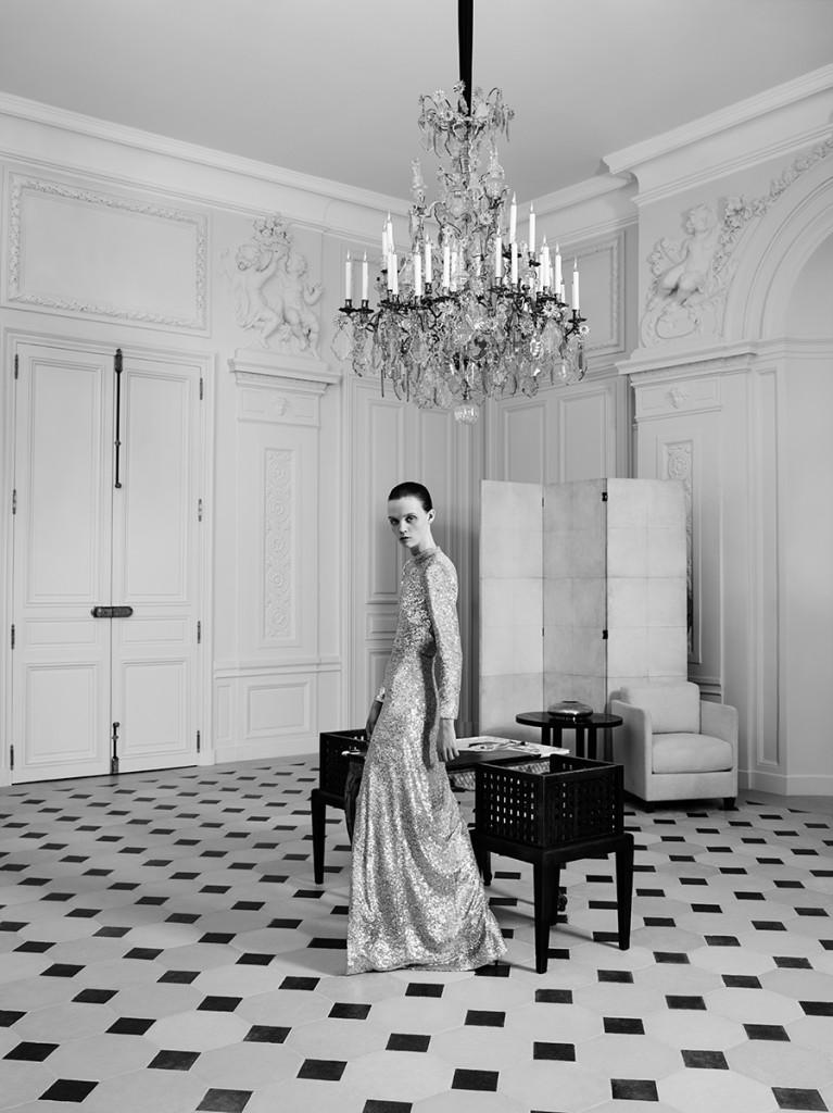 Yves Saint Laurent Couture_Hedi Slimane_Rue de l'Université campaign