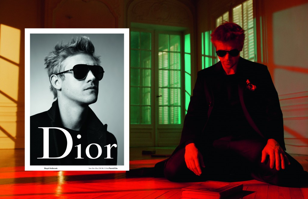 Boyd Holbrook for Dior Homme releases in new Fall-Winter 2015 campaign film by Willy Vanderperre, Paris XVI