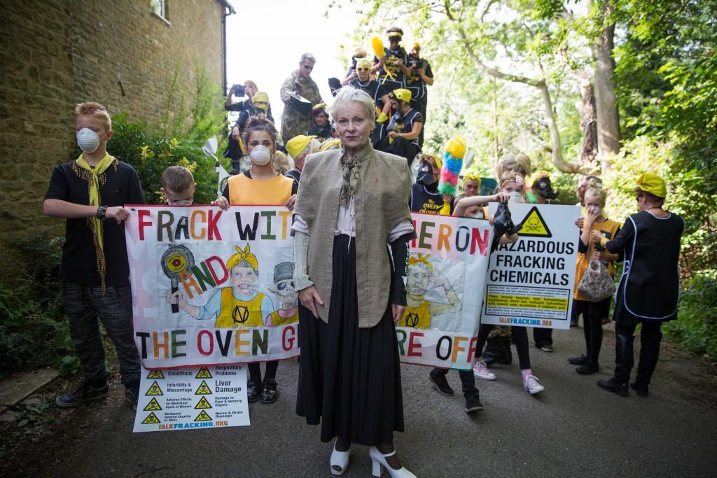 Vivienne Westwood against fracking