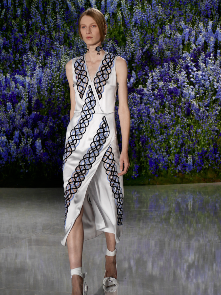 on the runway  dior ss16 paris by frank perrin