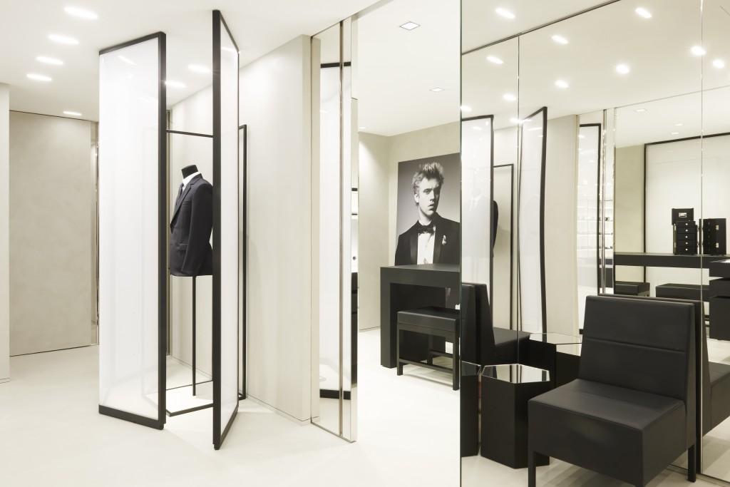 Dior HommeParis store opening Crash Magazine