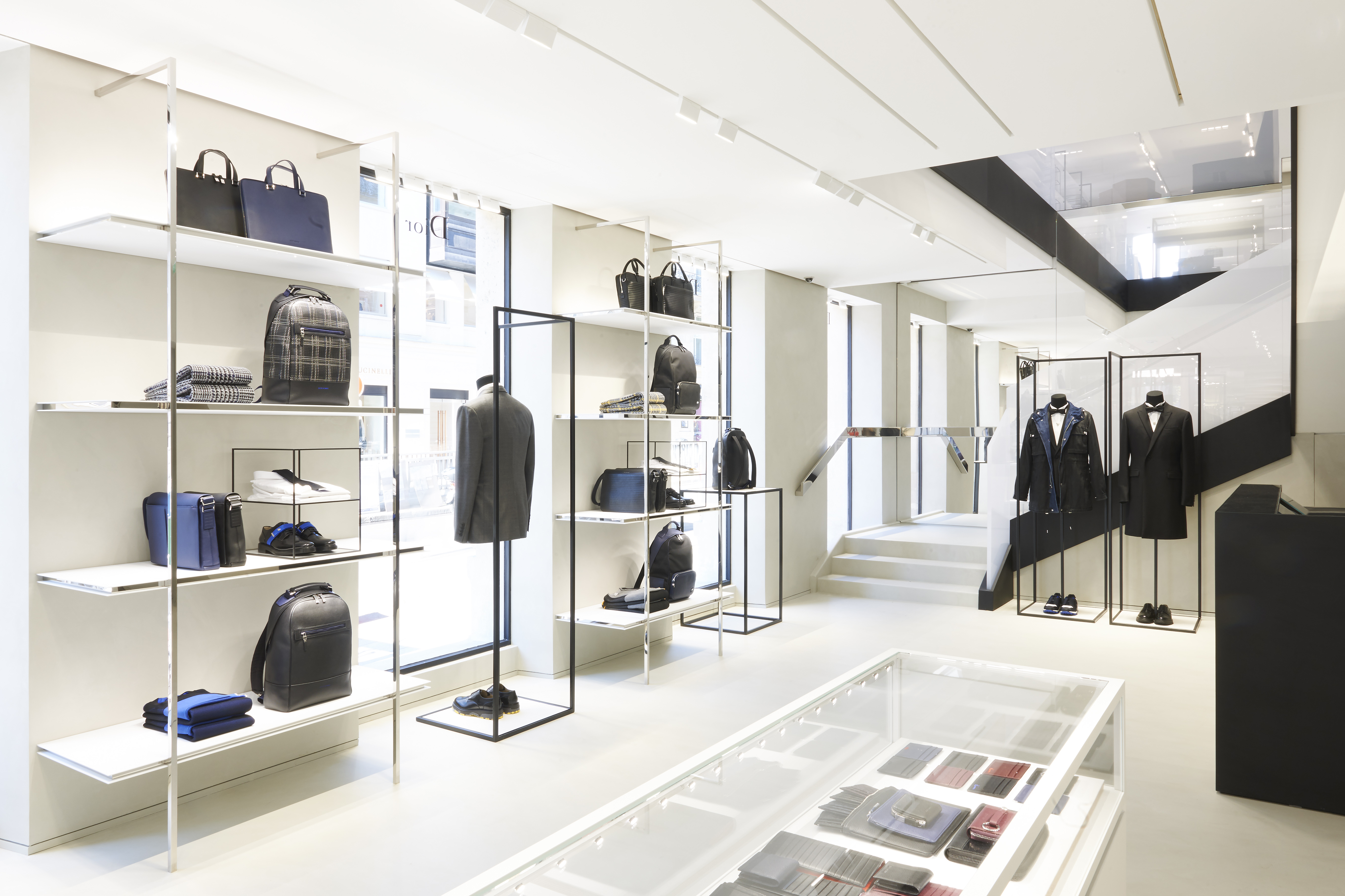 INSIDE THE NEW DIOR HOMME PARIS STORE