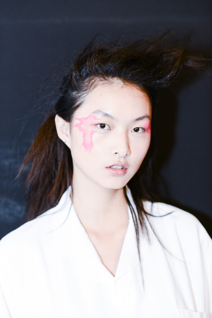 Issey MiyakeSS16 Paris Fashion Week backstage Dan Spigelman Crash Magazine