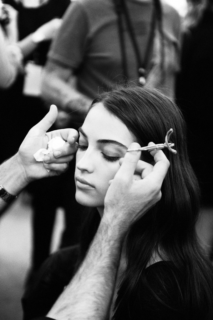Backstage beauty at Elie Saab SS16 by Elise Toïdé Paris Fashion Week Crash Magazine