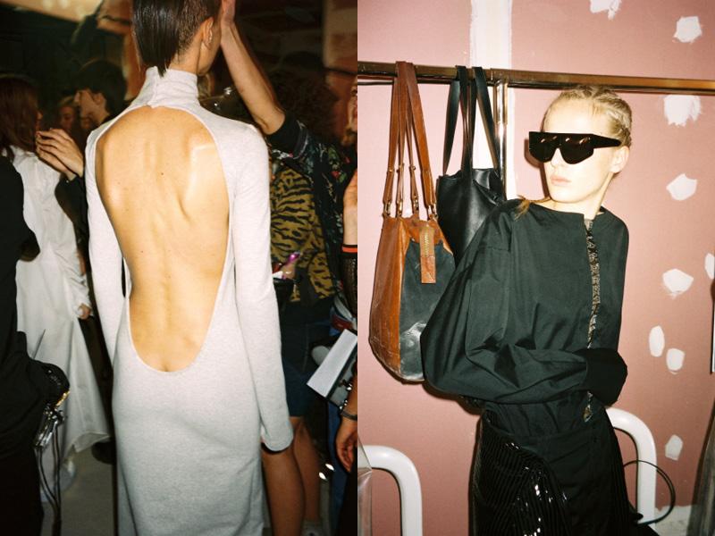 Backstage at Wanda Nylon SS16 Paris Fashion Week Crash Magazine