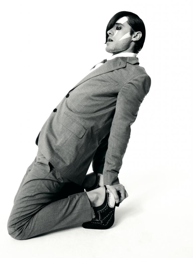 Jared Leto Crash Magazine archive Crash 44 Gucci Guilty