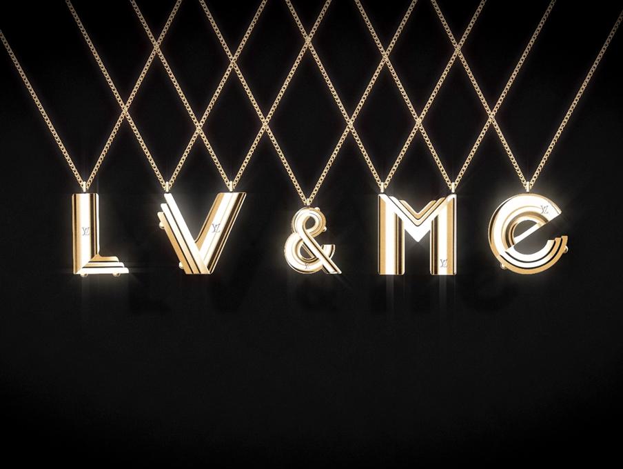 LV&ME Louis Vuitton Jewelry collection Crash Magazine