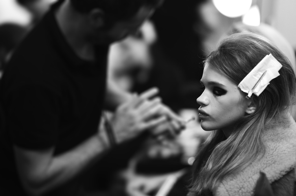 Chanel Paris in Rome backstage beauty_Stella Lucia_Frank Perrin Crash Magazine