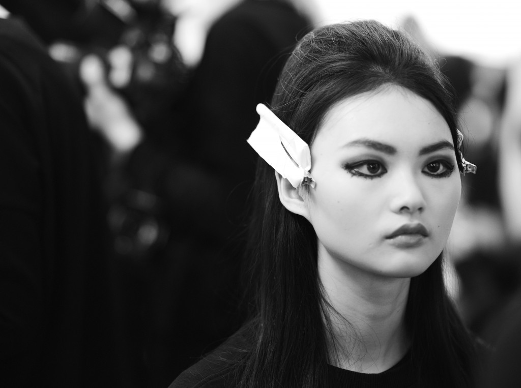 Chanel Paris in Rome backstage beauty_Luping Wang_Frank Perrin Crash Magazine