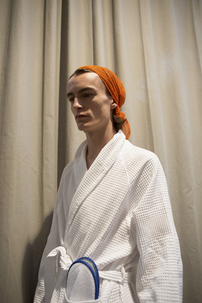 Backstage beauty GucciMen FW16 Milan Fashion Week fall-winter 2016 Crash Magazine by Tassili Calatroni