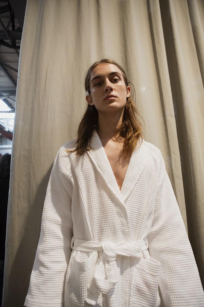 Backstage beauty Gucci MenFW16 Alessandro Michele Milan Fashion Week fall-winter 2016 Crash Magazine by Tassili Calatroni