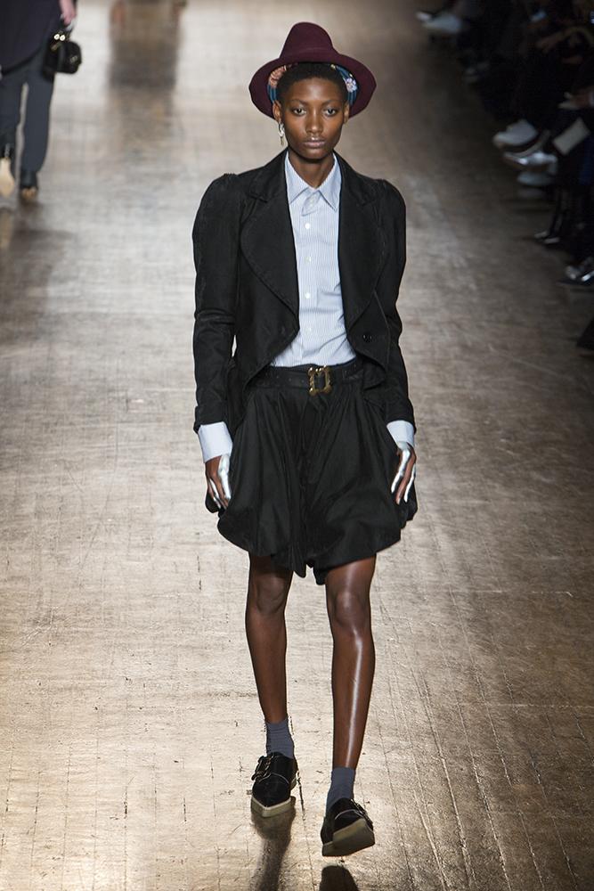 Vivienne Westwood Fall Winter 2016 runway London Fashion Week Crash Magazine