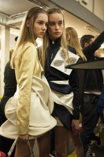 BACKSTAGE AT J.W. ANDERSON FALL-WINTER 2016 LONDON