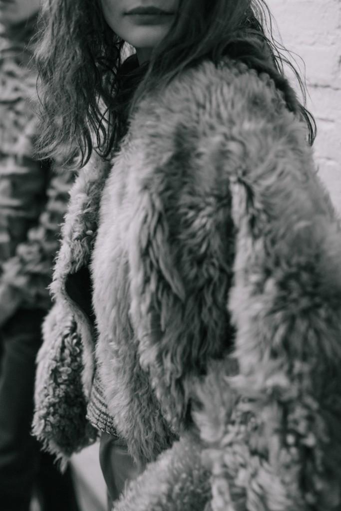 Backstage at Eckhaus Latta Fall Winter 2016 New York Fashion Week Crash Magazine by Bradford Gregory