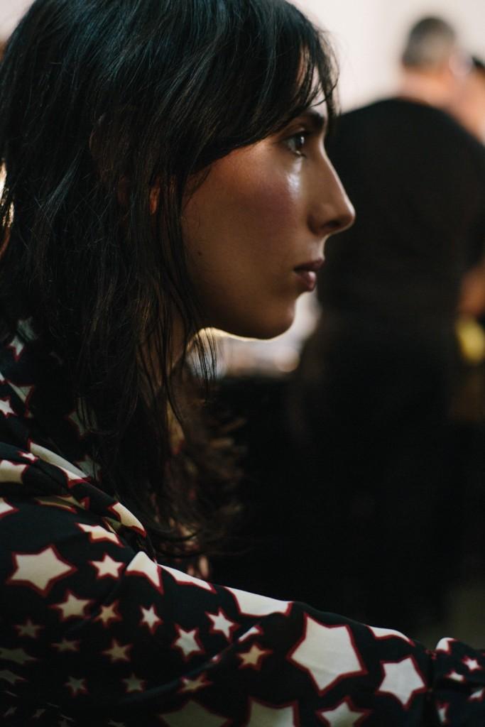 DKNY Fall Winter 2016 New York Fashion Week Crash Magazine backstage by Bradford Gregory Jamie Bochert