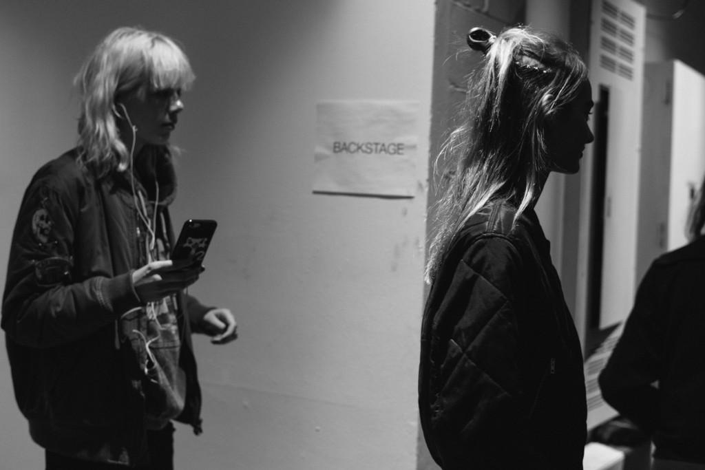 DKNY Fall Winter 2016 New York Fashion Week Crash Magazine backstage by Bradford Gregory