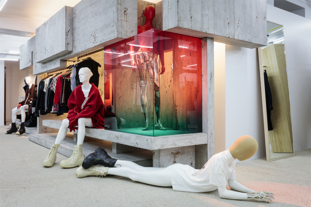 Dover Street Market - Raf Simons - Second Floor Interview with Adrian Joffe by Armelle Leturcq Crash Magazine