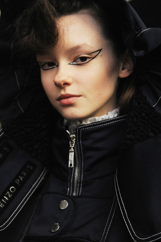 Kenzo Crash Magazine Elise Toïdé Paris Fashion Week backstage