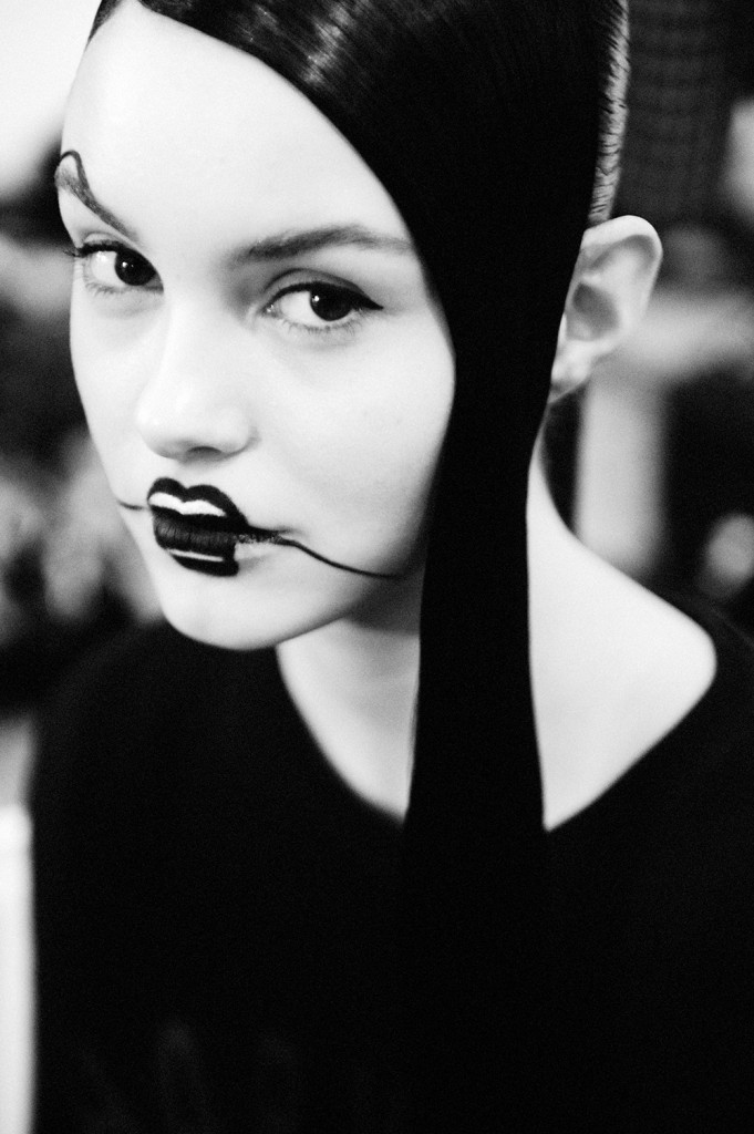 Yohji Yamamoto Crash Magazine Elise Toïdé 10 best make up styles of Paris Fashion Week