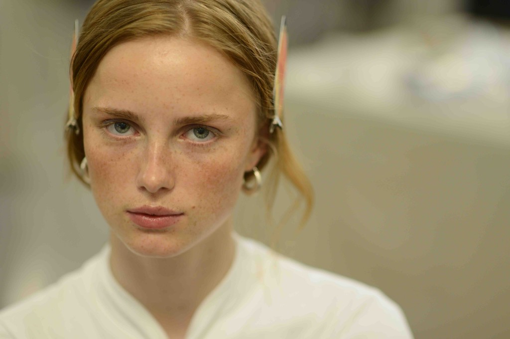 Chanel Cruise 2017 in Cuba backstage beauty Rianne van Rompaey