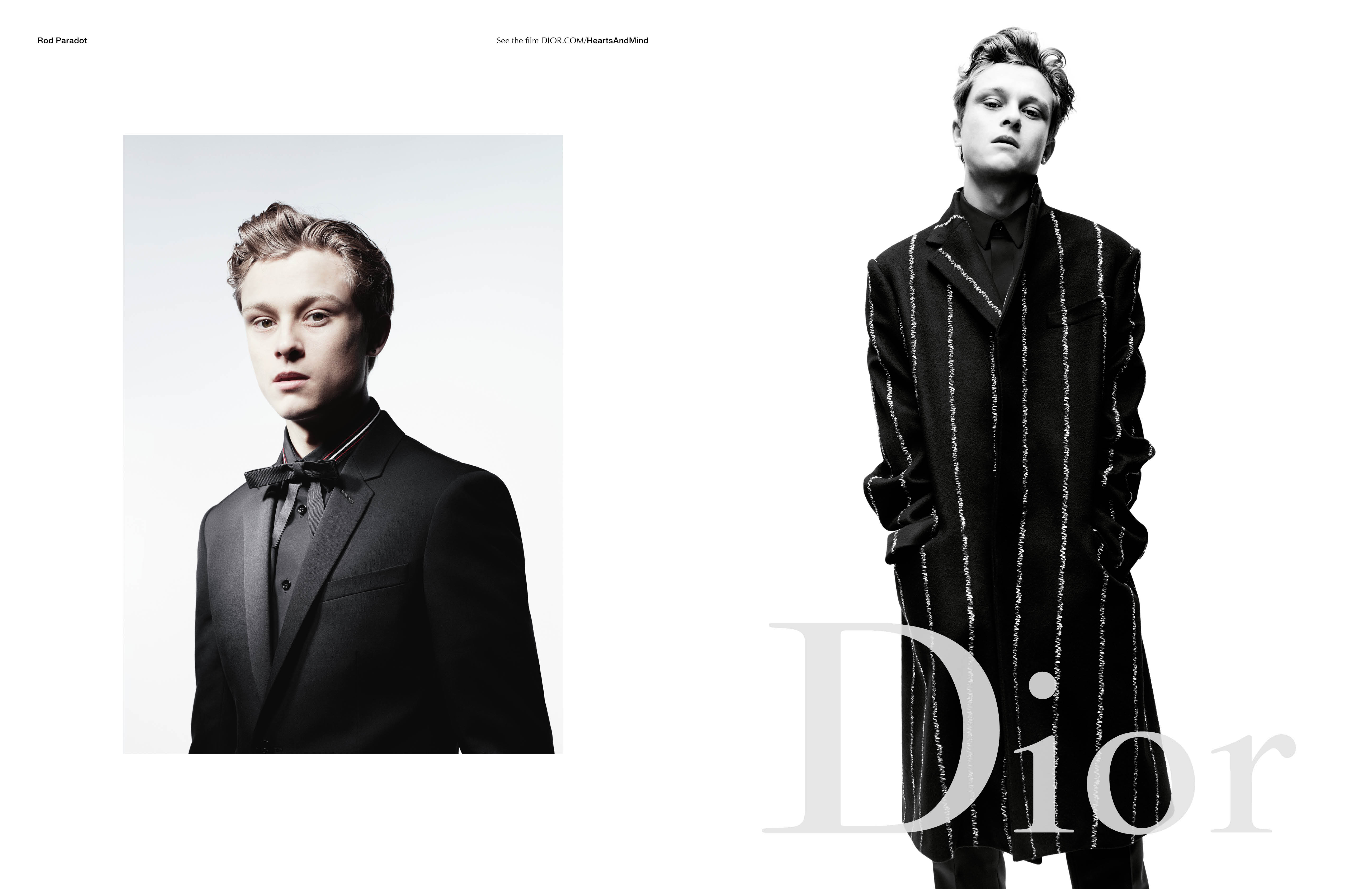 Dior Homme Fall Winter 2016 campaign