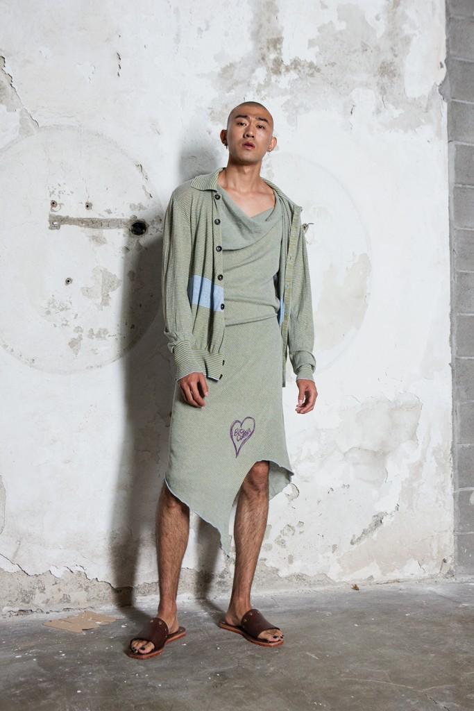Backstage Vivienne Westwood men's SS17 Milan Men Fashion Week Crash Magazine Tassili Calatroni