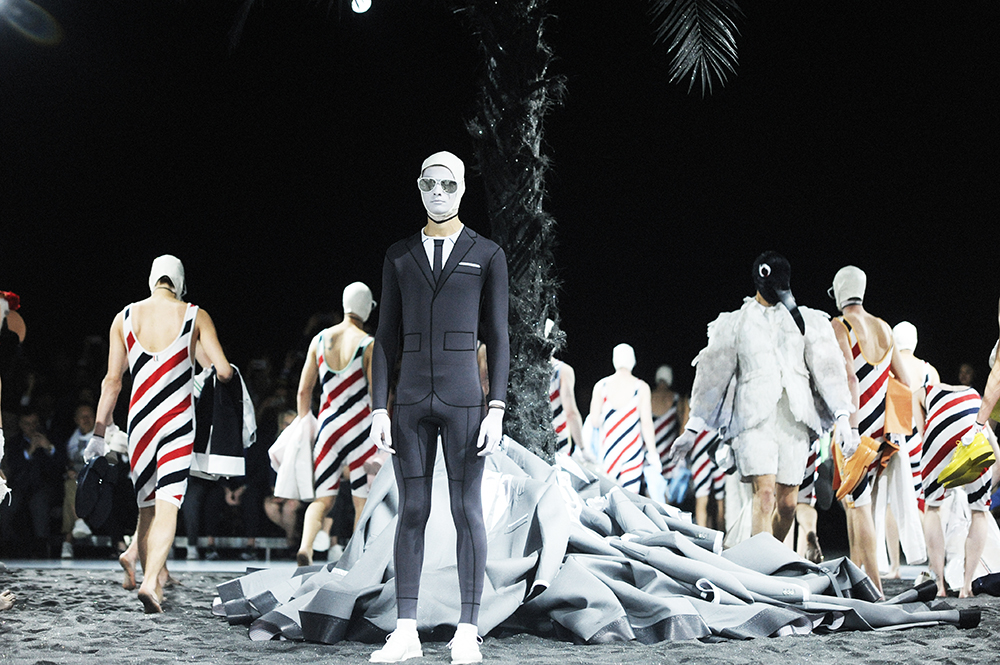Thom Browne Men's SS17 by Elise Toidé - Crash magazine
