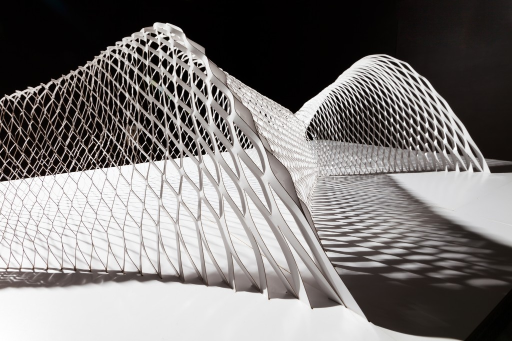 Design Miami/ Basel Owan by Kengo Kuma 2016 at Galerie Philippe Gravier courtesy of Galerie Philipe Gravier 1