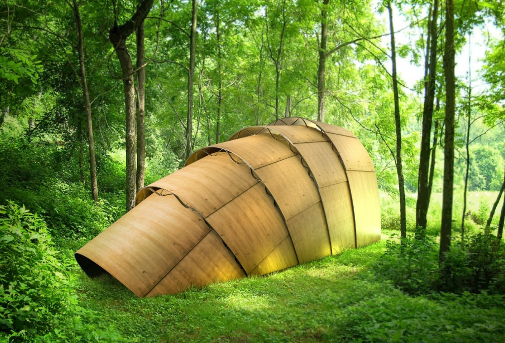 Design Miami/ Basel The Armadillo Tea Pavilion by Ron Arad for Revolution