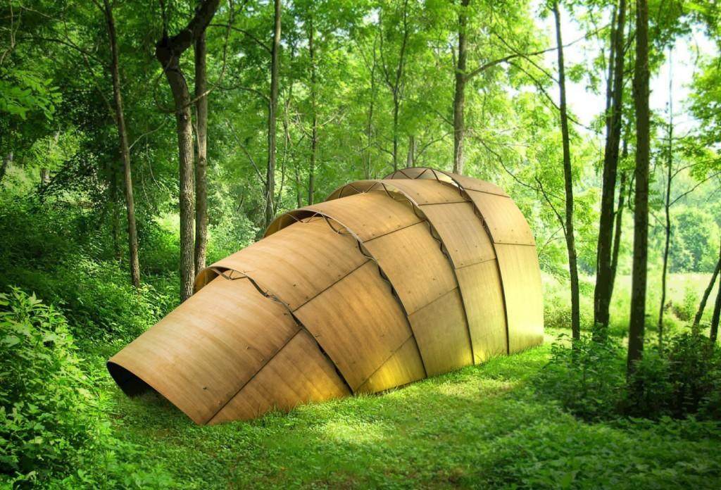 Design Miami/ Basel The Armadillo Tea Pavilion by Ron Arad for Revolution